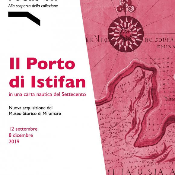 FOCUS ON.The Port of Istifan In a Nautical Map from the 18th Century
